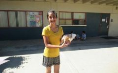 Akansha M. (8) Student of the Month – October