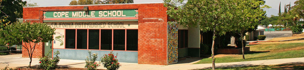 The student news site of Cope Middle School