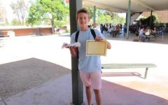 Jay R. (8) Student of the Month – October