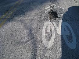 Holes in the Road and Dangerous Drivers-In a Road Biking Hotspot?