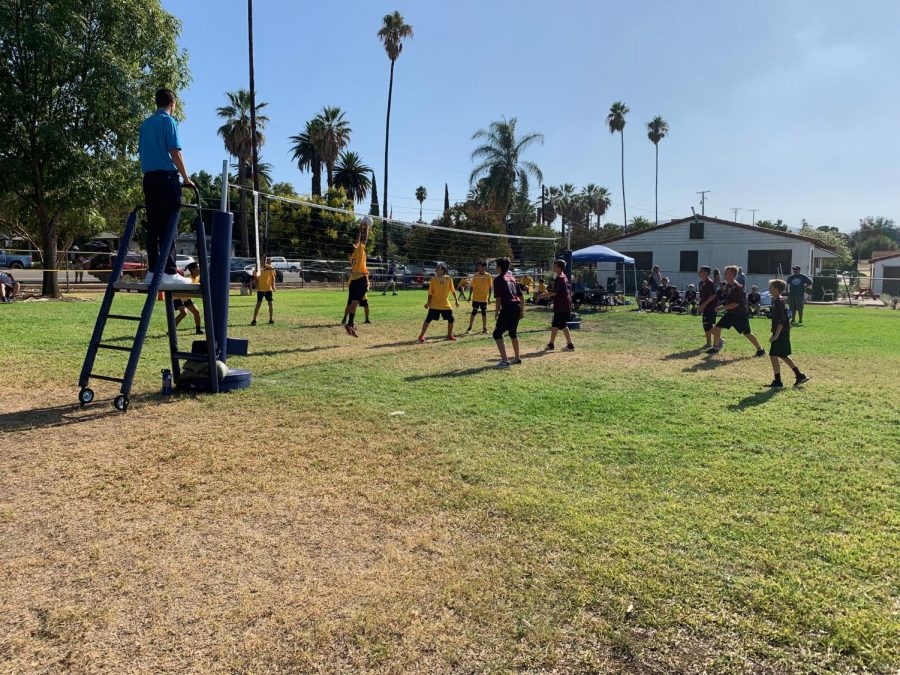 Boys and Girls Volleyball Game on 9/23