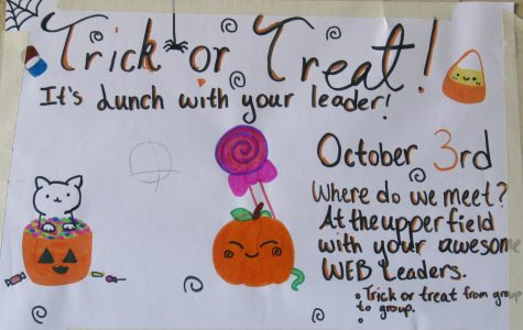 Trick-or-Treat WEB Lunch With Your Leader