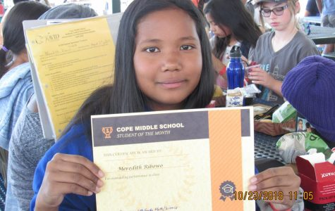 October Student of the Month – Meredith Ribowo
