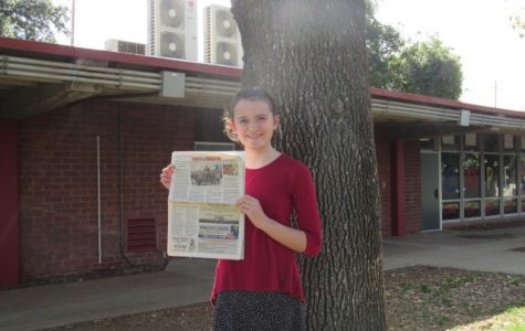 The Article by Margo Male in the Redlands Newspaper