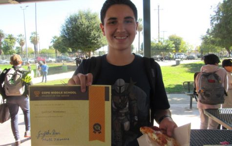 January Student of the Month-Gabriel Montanez