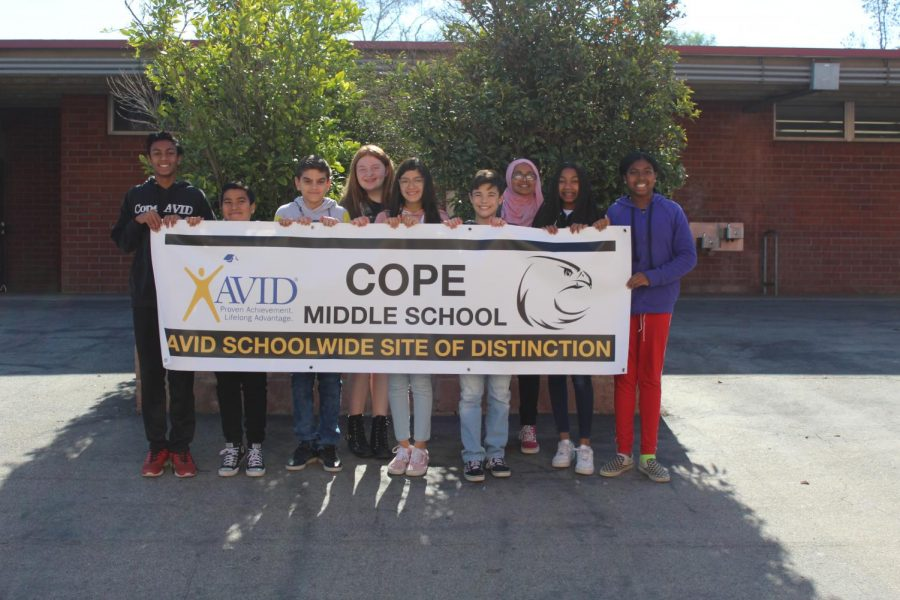 AVID+School+Wide+Site+of+Distinction