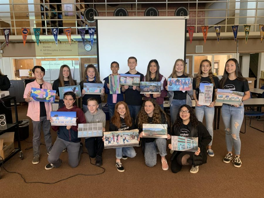 Yearbook Recognized At Staff Meeting 2/12/2020