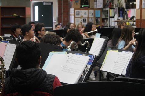 Band and Orchestra Go to RHS Festival