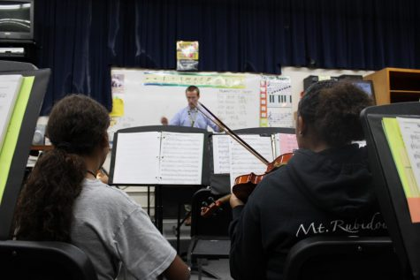 Orchestra Goes To Riverside Community College Festival