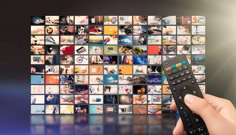Television streaming video concept