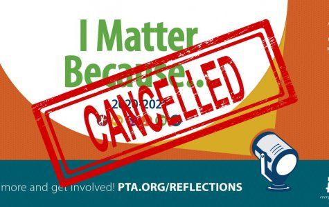 PTSA Reflections Cancelled