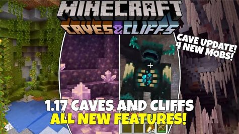 The Caves and Cliffs Update in Minecraft