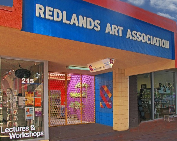 Store front of the RAA's gallery
