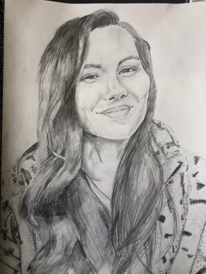Kayliana Patton's fanart was recognized by Olivia Olson!